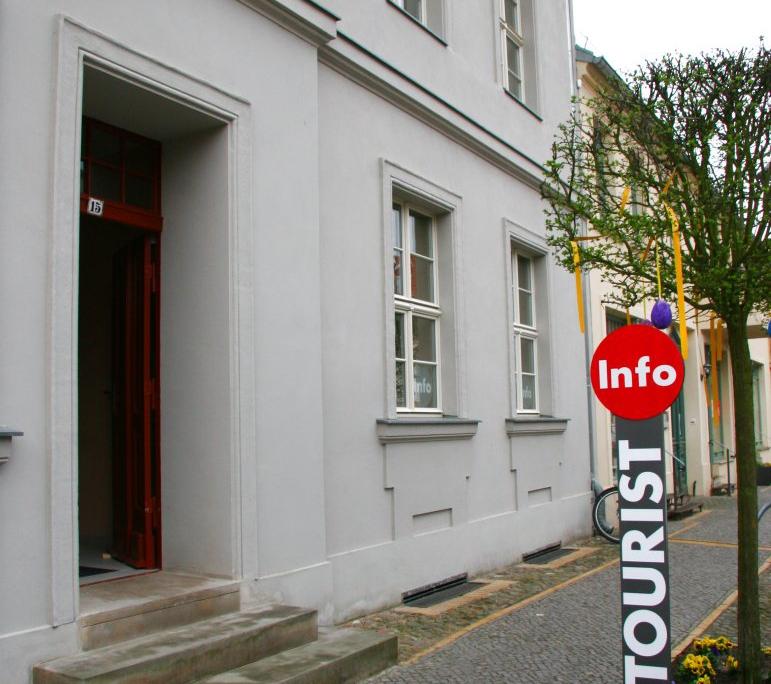 Gebäude Touristen Info Beelitz