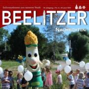 Beelitzer Nachrichten Juni Cover