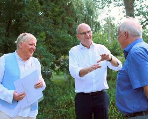 Woitke bei Besuch in Beelitz