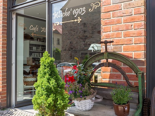 Café Alte Wache Beelitz Aussen