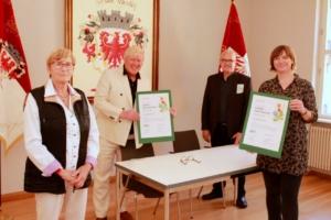 Vertragsunterzeichnung mit der Grünen Liga Berlin