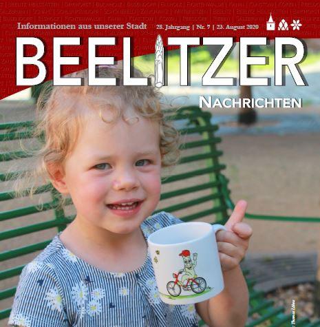 Cover Beelitzer Nachrichten Juli 2020