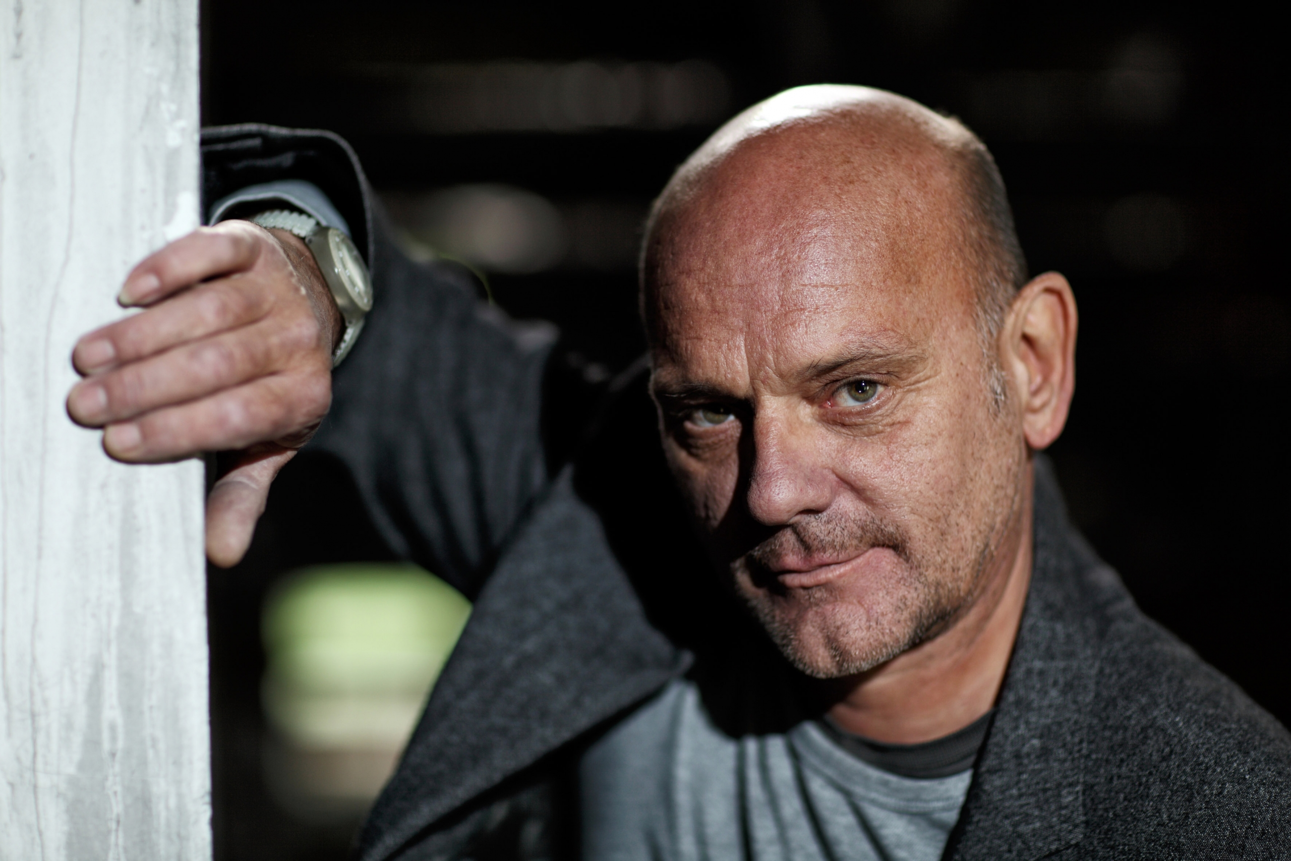 Der Schauspieler Ulrich Gebauer
